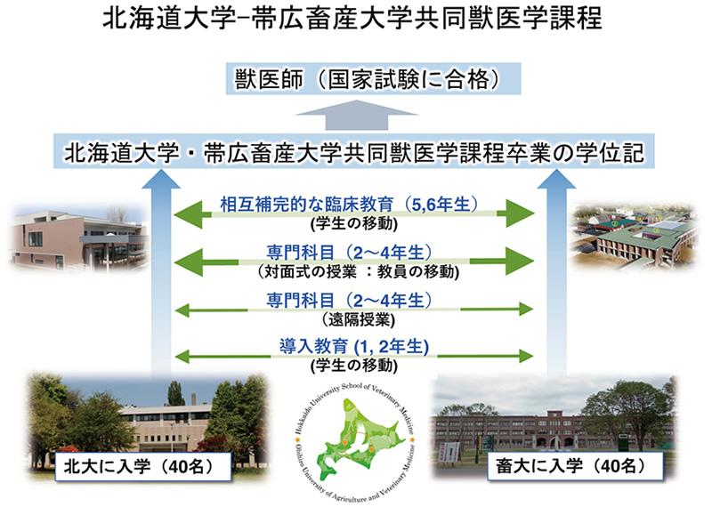 北海道大学─帯広畜産大学共同獣医学課程